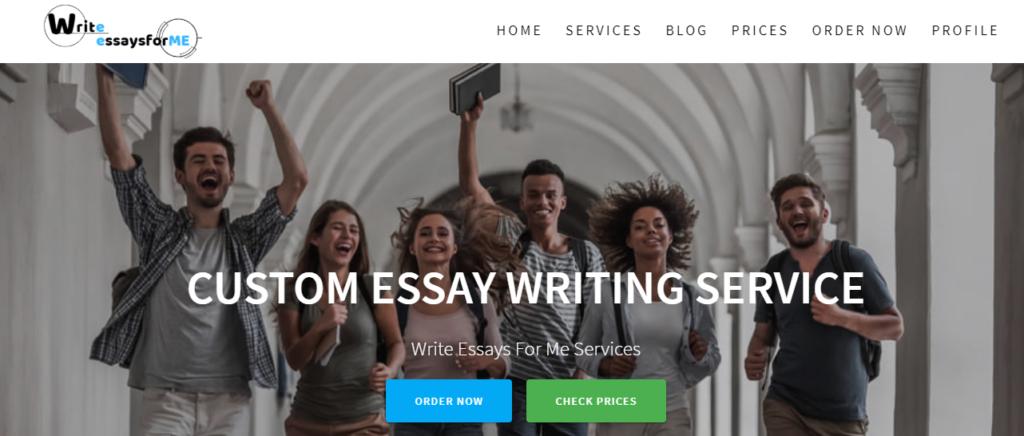 write essays for me